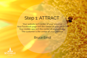 ATTRACT: The First Basic Step to Turning Visitors into Brand Ambassadors