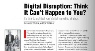Digital Disruption: Think It Can't Happen to You